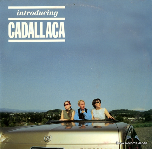 CADALLACA introducing cadallaca KLP86 - front cover