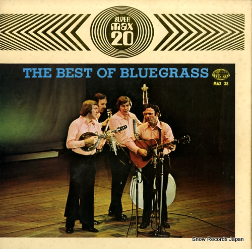 V/A the best of bluegrass - max 20 MAX-38 - front cover