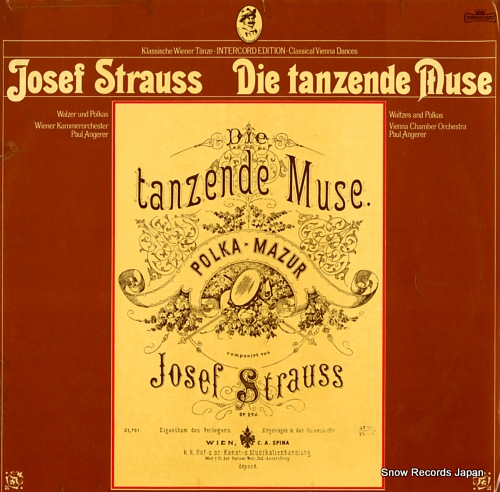 ANGERER, PAUL strauss; die tanzende muse INT180.814 - front cover