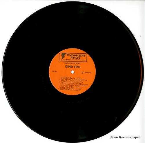 BUSH, JOHNNY undo the right PO#211 - disc