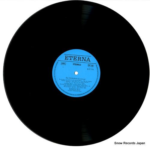 KLEE, BERNHARD albert lortzing; der wildschutz - ausschnitte - 827776 - disc