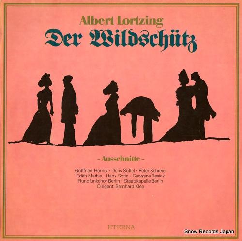 KLEE, BERNHARD albert lortzing; der wildschutz - ausschnitte - 827776 - front cover