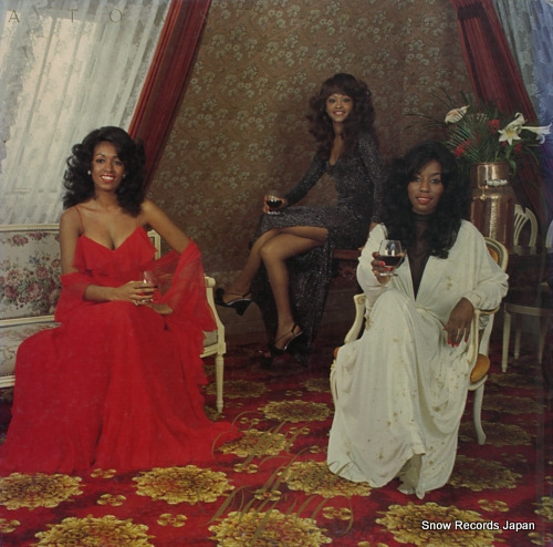 THREE DEGREES THE - a toast of love - LP