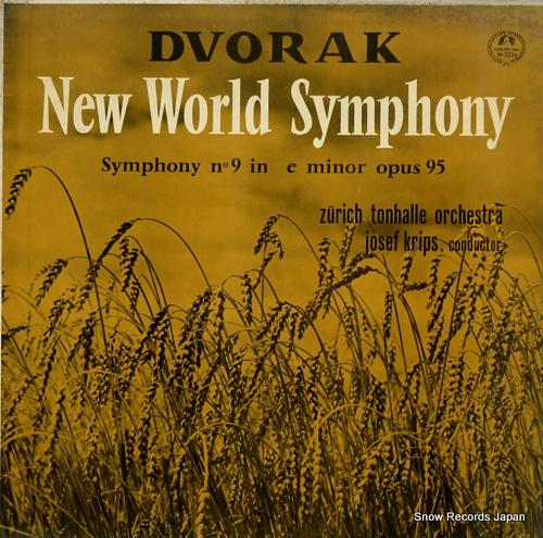 KRIPS, JOSEF dvorak; new world symphony M-2224 - front cover