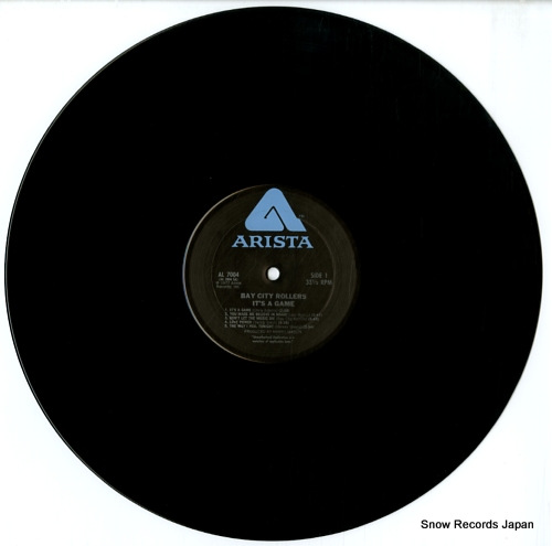 BAY CITY ROLLERS it's a game AL7004 - disc