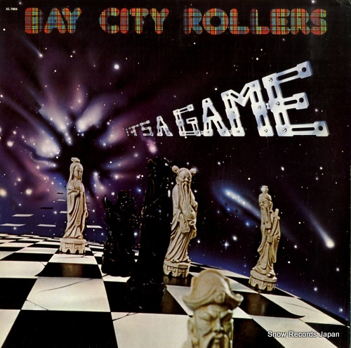 BAY CITY ROLLERS it's a game AL7004 - front cover
