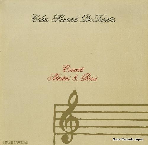 V/A concerti martini & rossi LMR5001 - front cover