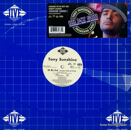 SUNSHINE, TONY oh my god 82876-63268-1 - front cover