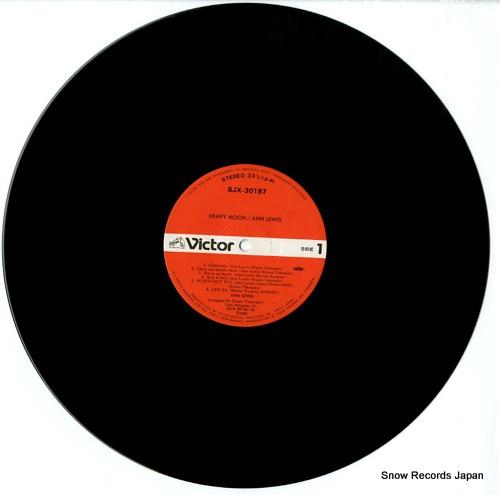 LEWIS, ANN heavy moon SJX-30187 - disc