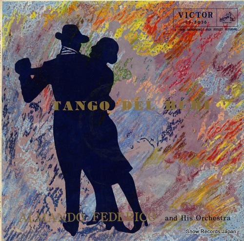 FEDERICO, ALMANDO tango del rubi LS-5036 - front cover