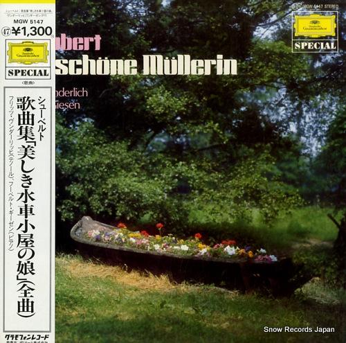 フリッツ・ヴンダーリッヒ シューベルト:歌曲集「美しき水車小屋の娘」(全曲) MGW5147