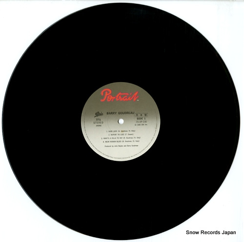 GOUDREAU, BARRY barry goudreau 25.3P-230 - disc