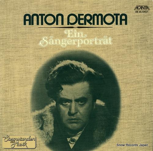 DERMOTA, ANTON ein sangerportrat DE23.120/21 - front cover