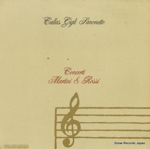 V/A concerti martini & rossi LMR5002 - front cover