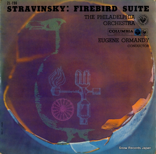 ORMANDY, EUGENE stravinsky; firebird suite ZL-156 - front cover