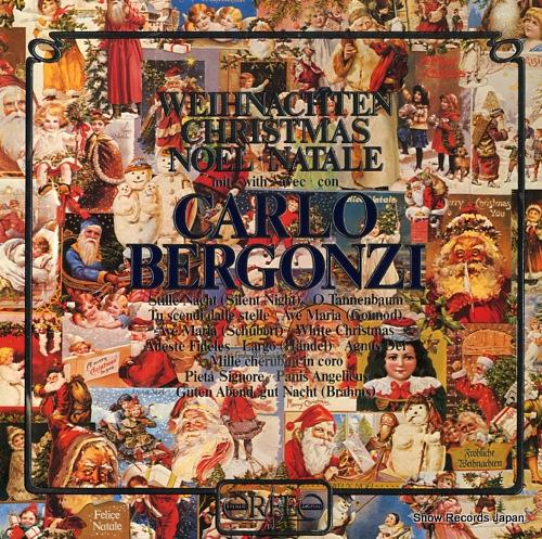 BERGONZI, CARLO weihnachten christmas noel, natale S030821A - front cover