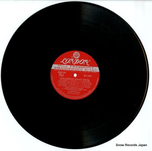 LORENGAR, PILAR operatic recital SLC1833 - disc