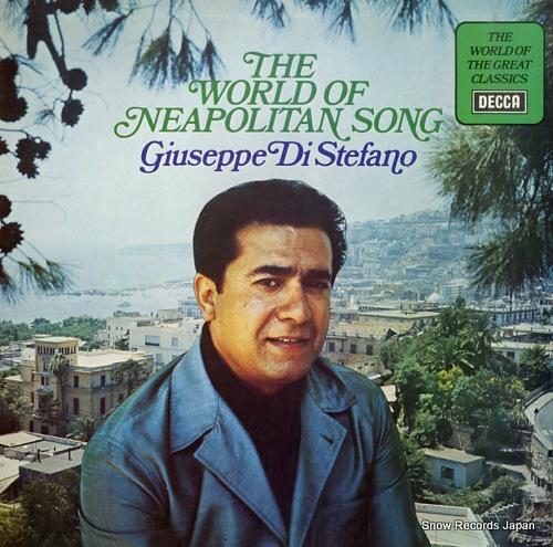 ジュゼッペ・ディ・ステファーノ the world of neapolitan song SPA313