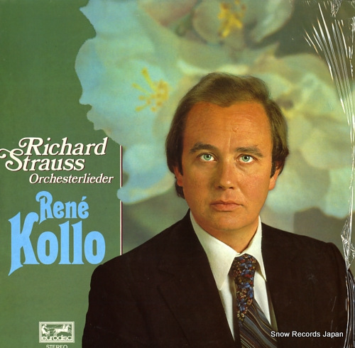 KOLLO, RENE r.strauss; orchesterlieder 200591-366 - front cover