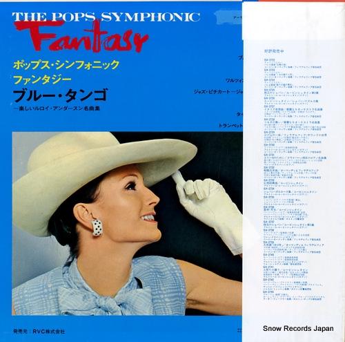 FIEDLER, ARTHUR the pops symphonic fantasy blue tango RVC-2088 - back cover