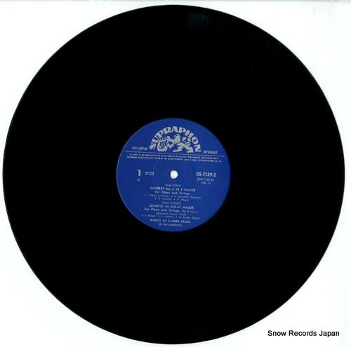 MUSICA DA CAMERA PRAGA fiala; oboe quartet in f major OS-7139-S - disc