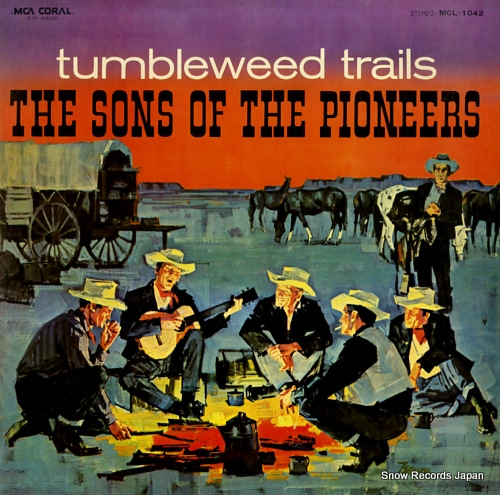 SONS OF THE PIONEERS, THE tumbleweed trails MCL-1042 - front cover