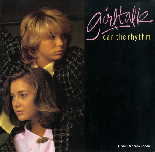 GIRLTALK can the rhythm (extended mix) IVST4 - front cover