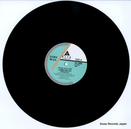 ロン&ザ・D.C.クルー ロンのラップ ALI-13006