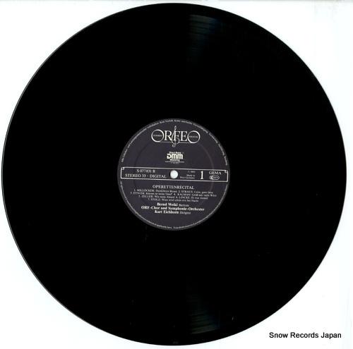 WEIKL, BERND operettenrecital S077831B - disc