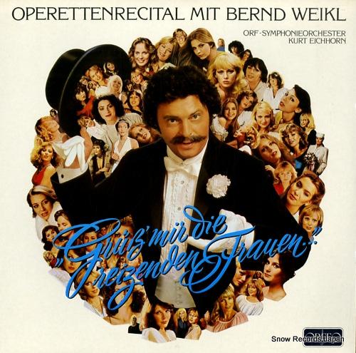 WEIKL, BERND operettenrecital S077831B - front cover