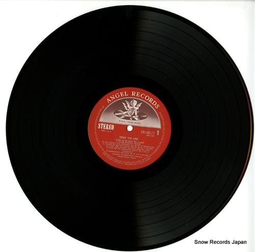 SCHWARZKOPF, ELISABETH songs you love EAC-60171 - disc
