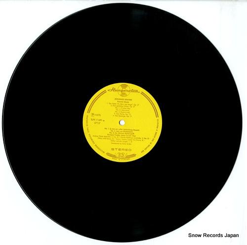 ANDOR, ILONA brahms; female choirs SLPX11691 - disc