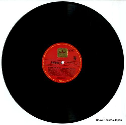 COLLEGIUM VOCALE KOLN lieder fur chor 1C065-30828 - disc