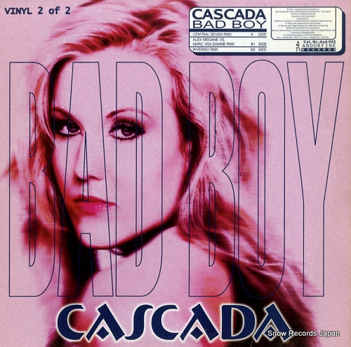 CASCADA bad boy AND022 - front cover