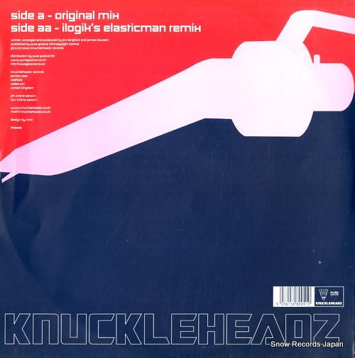 KNUCKLEHEADZ VS JAMES LAWSON irrational impulses KHZ005 - back cover