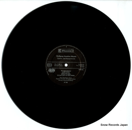 HAEFLINGER, ERNST mozart arien D8305 - disc