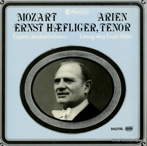 HAEFLINGER, ERNST mozart arien D8305 - front cover