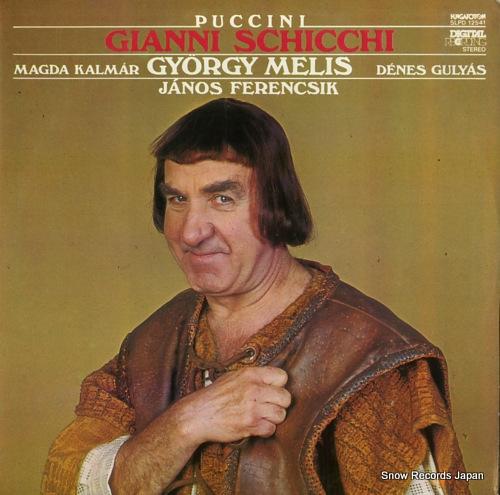 FERENCSIK, JANOS puccini; gianni schicchi SLPD12541 - front cover