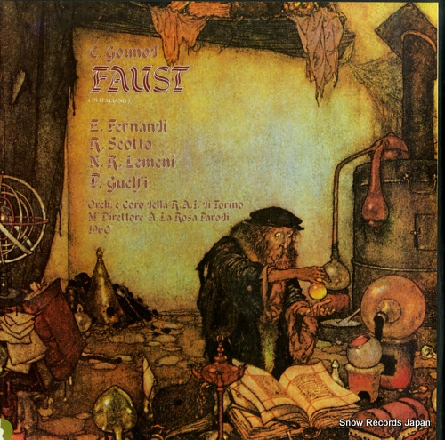 LA ROSA PARODI, ARMANDO gounod; faust STR1008/9/10 - front cover