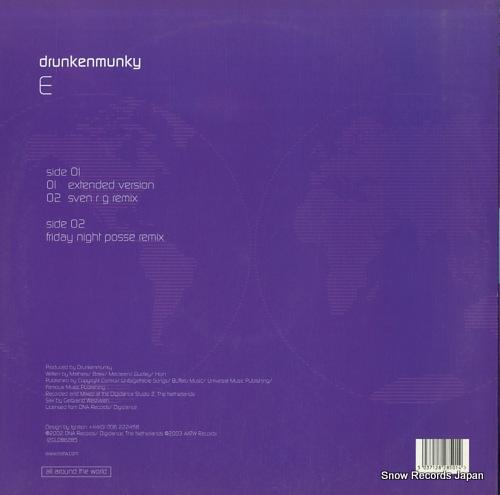 DRUNKENMUNKY e 12GLOBE285 - back cover