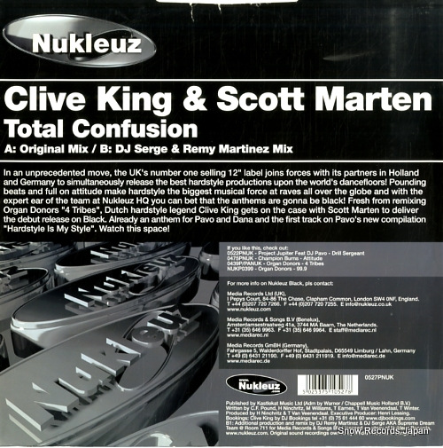 KING, CLIVE, AND SCOTT MARTEN total confusion 0527PNUK - back cover