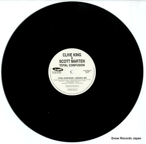 KING, CLIVE, AND SCOTT MARTEN total confusion 0527PNUK - disc