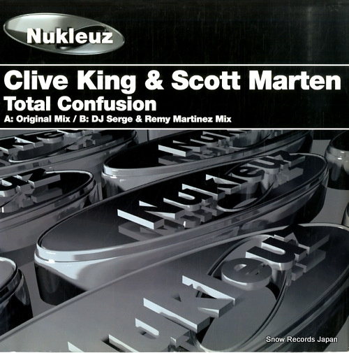 KING, CLIVE, AND SCOTT MARTEN total confusion 0527PNUK - front cover