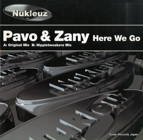 PAVO AND ZANY here we go 0533PNUK - front cover