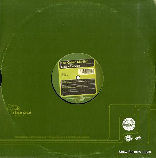 GREEN MARTIAN, THE electric fantastic BM-2004-188 - back cover