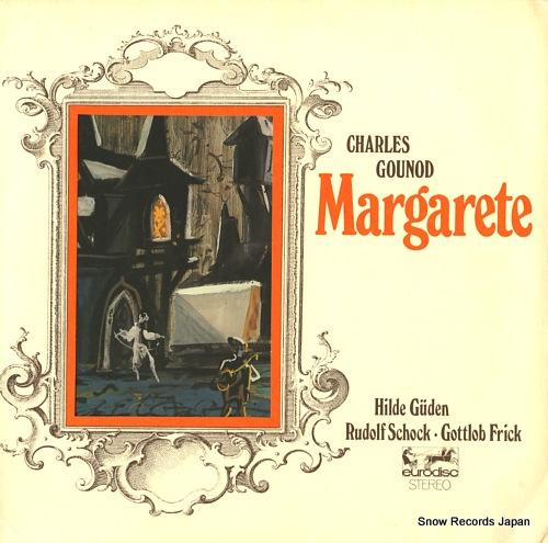 SCHUCHTER, WILHELM gounod; margarete 86813KR - front cover