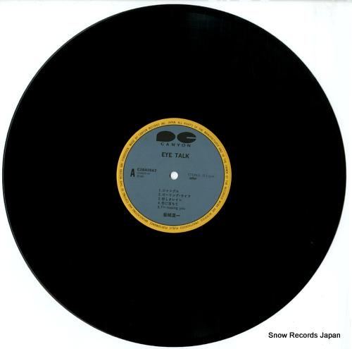 IWAKI, KOICHI eye talk C28A0567 - disc