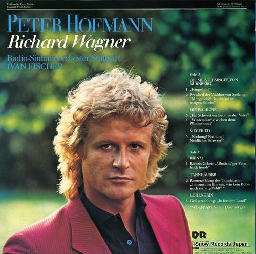 HOFMANN, PETER sings wagner 28AC1989 - back cover