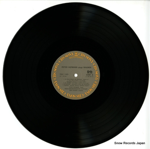 HOFMANN, PETER sings wagner 28AC1989 - disc