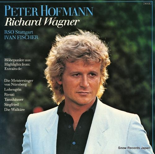 HOFMANN, PETER sings wagner 28AC1989 - front cover